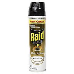 Insecticida Raid mata arañas y cucarachas