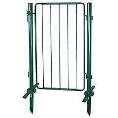 Puerta modular con postes 60 x 100 cm Multi verde