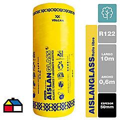 Lana de vidrio R122 libre 50mm 0,6x10m 1 rollo