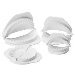 Set de moldes para empanadas 4 unidades