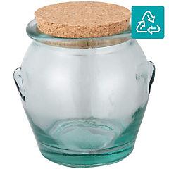 Canister para miel con tapa 900 cc vidrio transparente