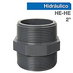 Niple PVC HE-HE 2
