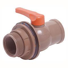 Válvula estanque con unión 50mm