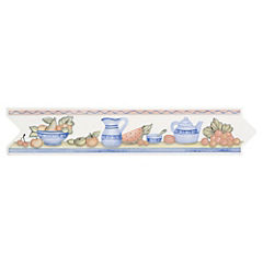 Set 4 unidades Listel Catarina Blue 5.5 x 26 cm