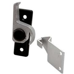 Picaporte aluminio negro izquierdo