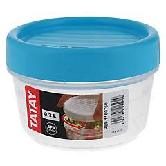 Contenedor de alimentos plástico 200 ml