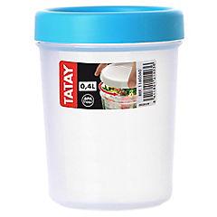 Contenedor de alimentos plástico 400 ml