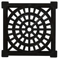 15 cm Negra Rejilla PVC para piletas
