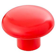 Perilla plástica 38mm rojo