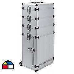 Maleta para herramientas 77x32,7x21 cm aluminio