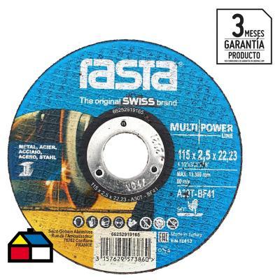 Disco de corte metal 4 5 xido de aluminio for Escalera plegable aluminio sodimac