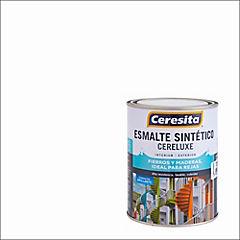 Esmalte Sintético Cereluxe 1/4 galón Blanco
