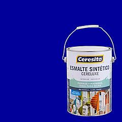 Esmalte Sintético Cereluxe 1 galón Azul Eléctrico