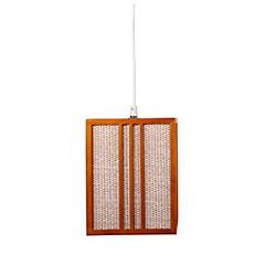 Lámpara de colgar Nikko 1 luz Beige