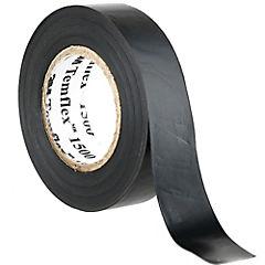 Cinta aisladora eléctrica 18 mm 20 m Negro