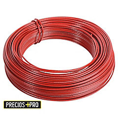 Cable eléctrico 14 AWG 100 m Rojo