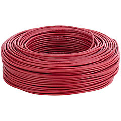 Cable eléctrico 12 AWG 100 m Rojo