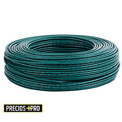 Cable eléctrico 12 AWG 100 m Verde