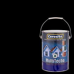 Pintura para techo Multitecho 1 galón Negro