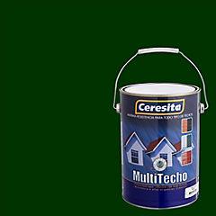 Pintura para techo a base de agua satinado 1 gl Verde