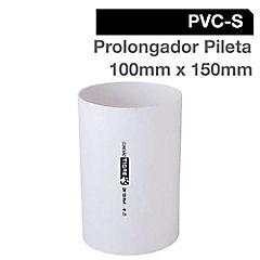 Prolongador PVC para pileta 100 x 150 mm