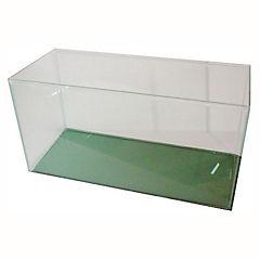 Acuario con tapa 100x40x31 cm de vidrio