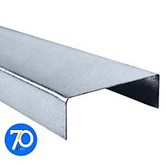 6m Perfil U 2x6x1 Metalcon estructural