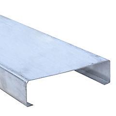 6m Perfil C 2x6x1,6 Metalcon estructural