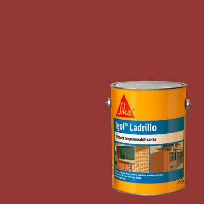 Impermeabilizante para ladrillos semibrillante 3 kg - Ladrillo visto precio ...