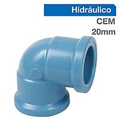 Propack 10 codos PVC-P 90° de 20 x 20 mm Cementar