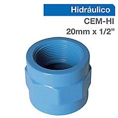 Set terminales PVC para cementar 1/2