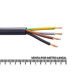 Cordón H05W 4x1.5 MM2 metro lineal