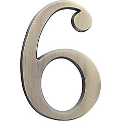 Número para casa #6 o #9 plateado