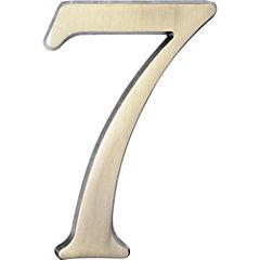 Número para casa #7 plateado
