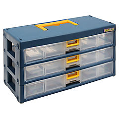 Organizador modular 3 gavetas.