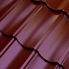 Teja acero gravillada Andes 1745 x 405 mm Rojo óxido