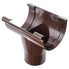 Bajada PVC marrón