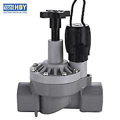 Válvula solenoide 1'' con control de flujo