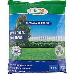 Semilla lawn grass con trébol 1 kg bolsa