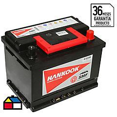 Batería libre mantención 54 A 12 V Izquierdo positivo