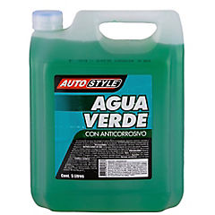 Agua verde 5 litros bidón