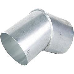 Codo para tubo Acero galvanizado 3.5