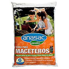 Tierra Maceteros 6l/4kg