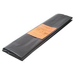 3 x 5 m Polietileno negro
