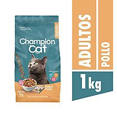 Alimento para gato adulto 1 kilo sabor pollo