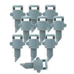 Set de estacas para microjet plástico 10 unidades