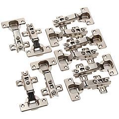 Set de bisagras retén 35 mm 10 unidades
