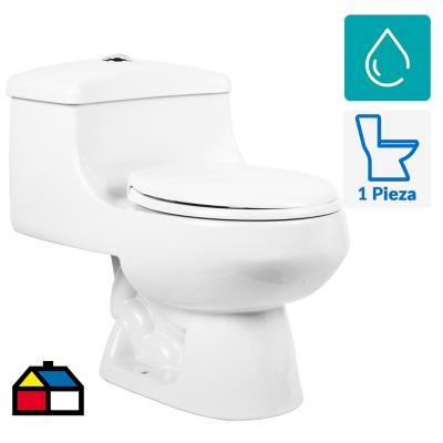 Wc one piece san giorgio c asiento blanco for Estanque wc plastico