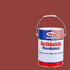 Pintura antióxido opaco 1 gl Rojo