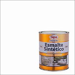 Esmalte Sintético Alto Brillo 1/4 galón Blanco